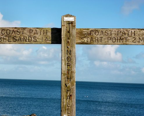 South West Coast Path at Start Point